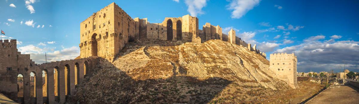 Aleppo citadel,unesco,syria