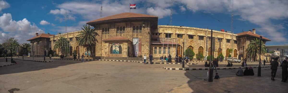 Aleppo Train station in 2017