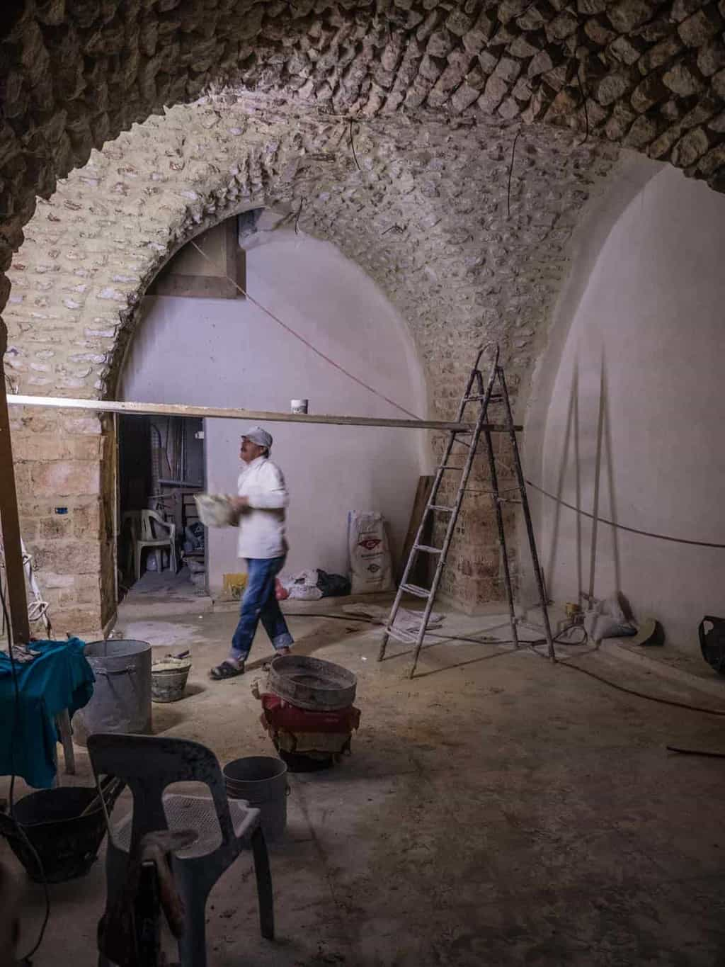 Aleppo Souq getting rebuilt