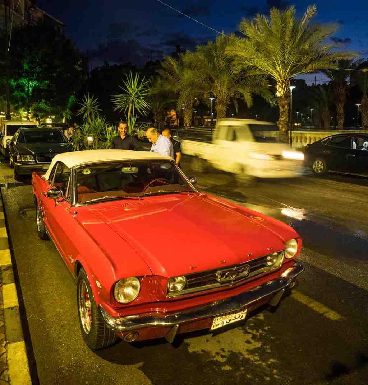 Aleppo,car,syria,mustang
