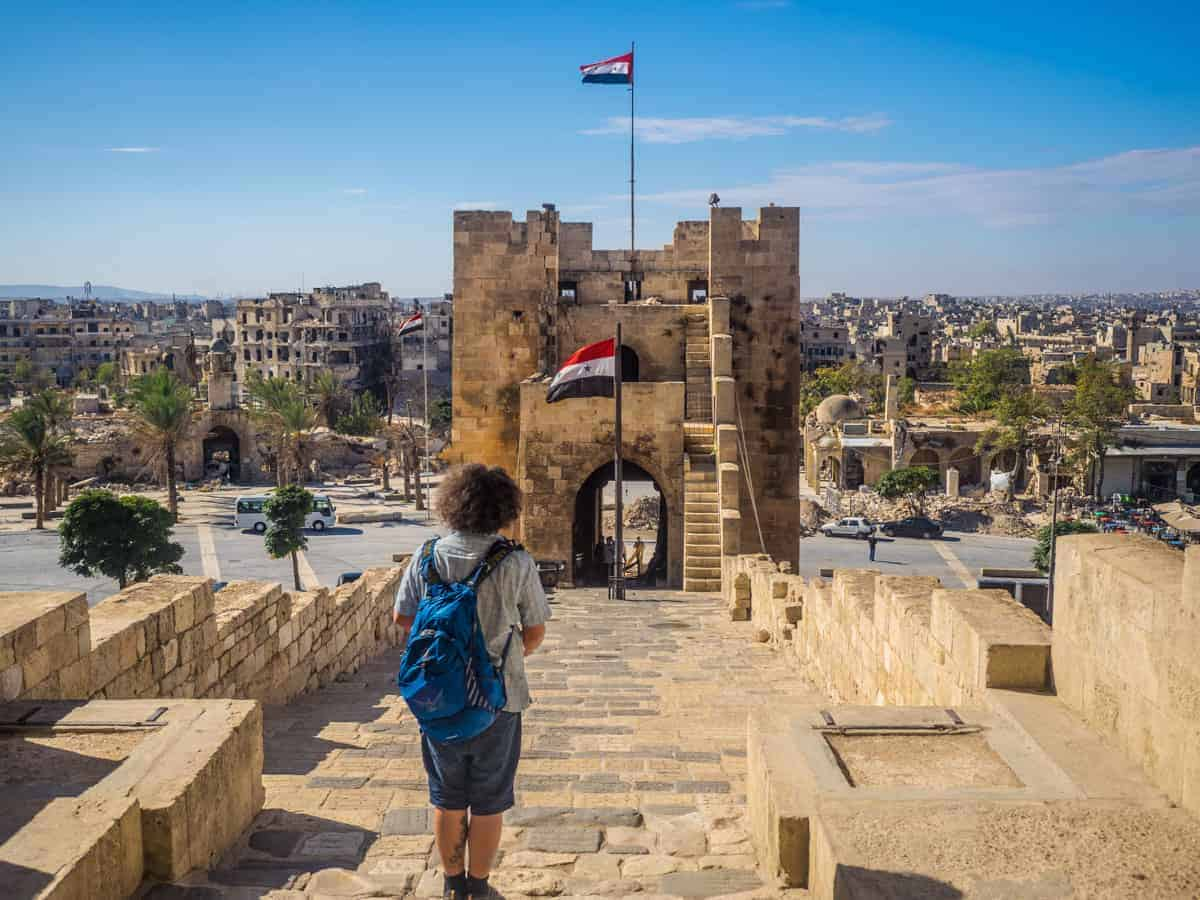 As A Tourist In Aleppo Syria 2017 Unusual Traveler