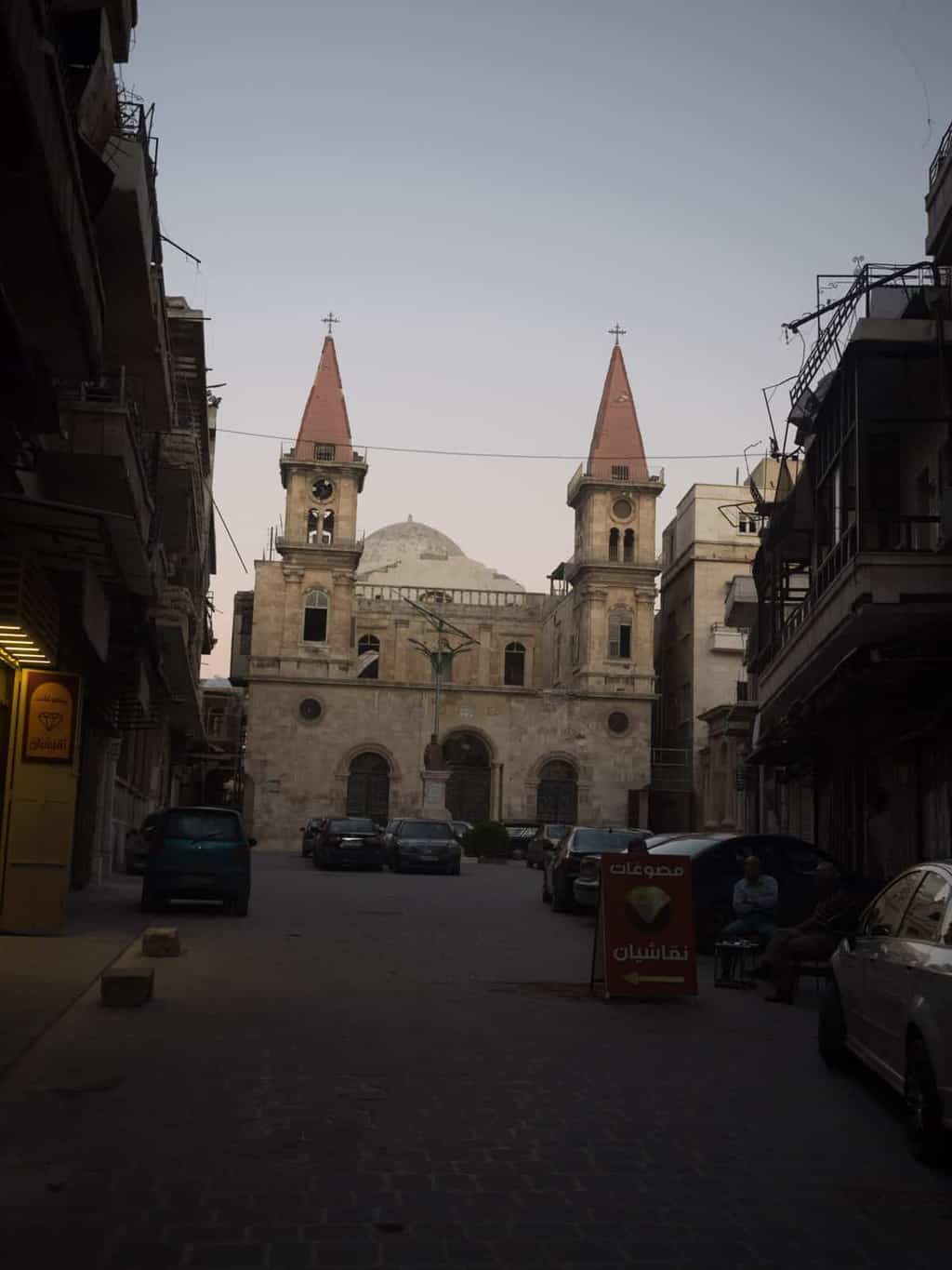 Christian Church in Aleppo in Syria