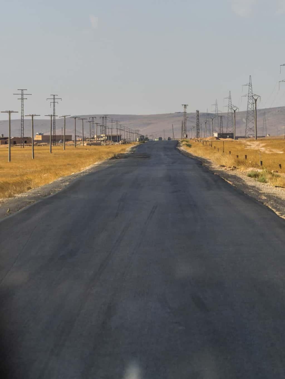 road to Aleppo, the Khanasser Road