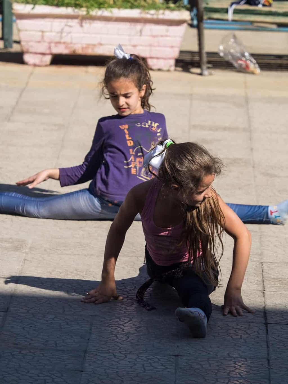 local kids in parks in Aleppo