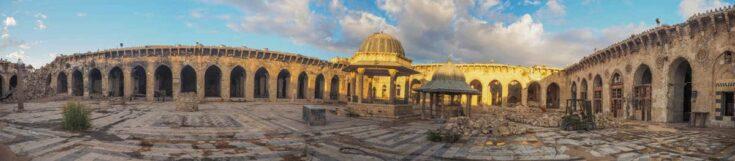 Aleppo mosque syria