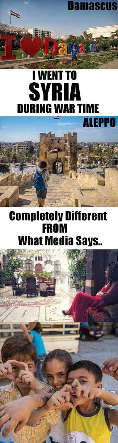 Friends and family told me I had to be insane and that I must have a death wish to want to visit Syria. But in the end so was Syria amazing and everything western media write a complete lie