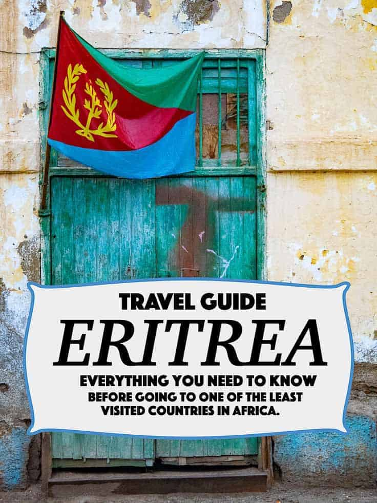 Planning a visit to Eritrea? One of the least visited countries in Africa and often called the North Korea of Africa. Everything from Visa, money, internett etc