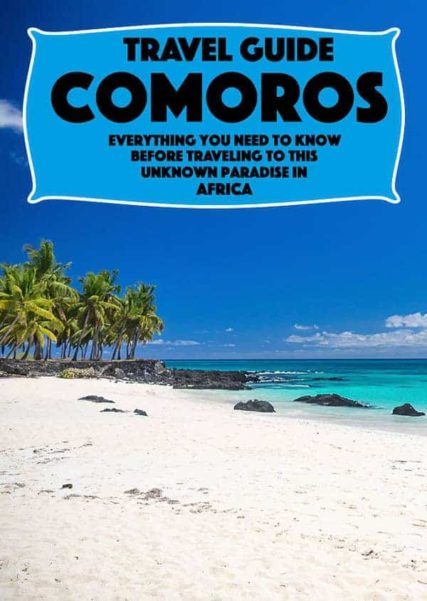The complete guide to the small country of Comoros in east Africa, a paradise with amazing beaches, whales, dolphins, a complete travel guide