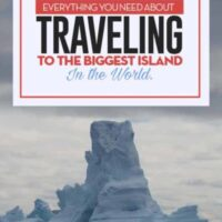 Travel Guide to Greenland the biggest island in the world, from hiking, icebergs, transportation