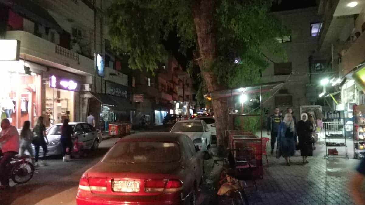 streets of homs syria