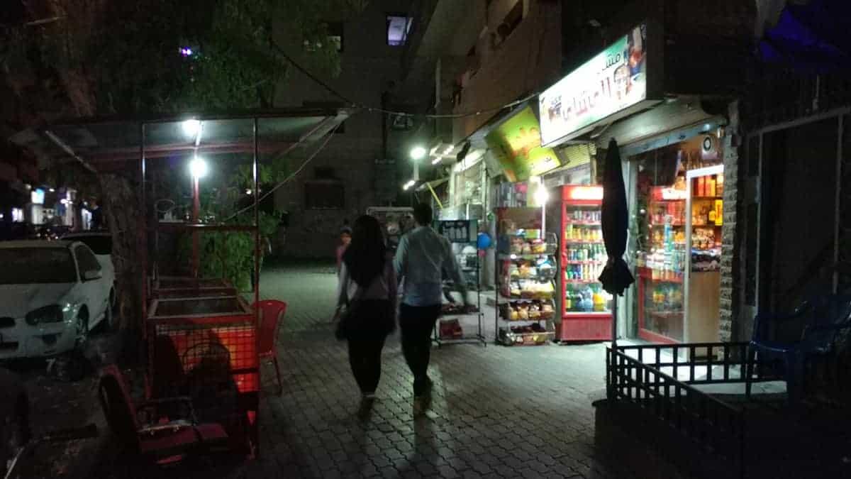 nightlife of homs syria