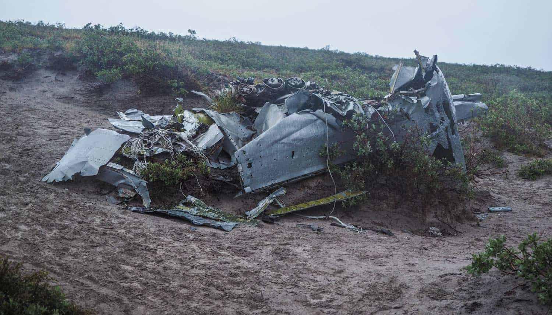 flight wreck greenland