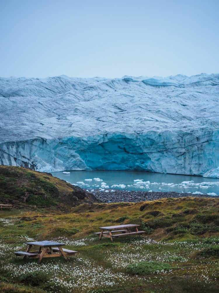 Glacier picknick greenland