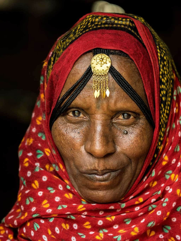 eritrea woman portrait