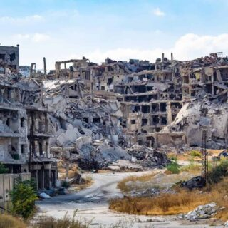 As Tourist In Homs, From The Most Devastated City In Syria And Back To Normal Life.