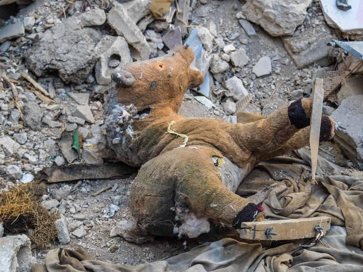 kids syrian war homs