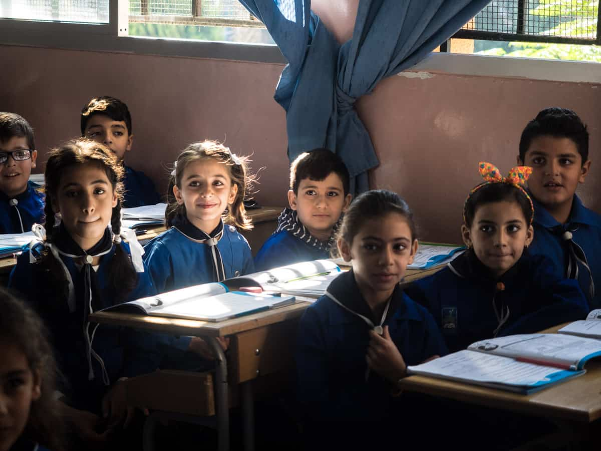 Syrian young kids