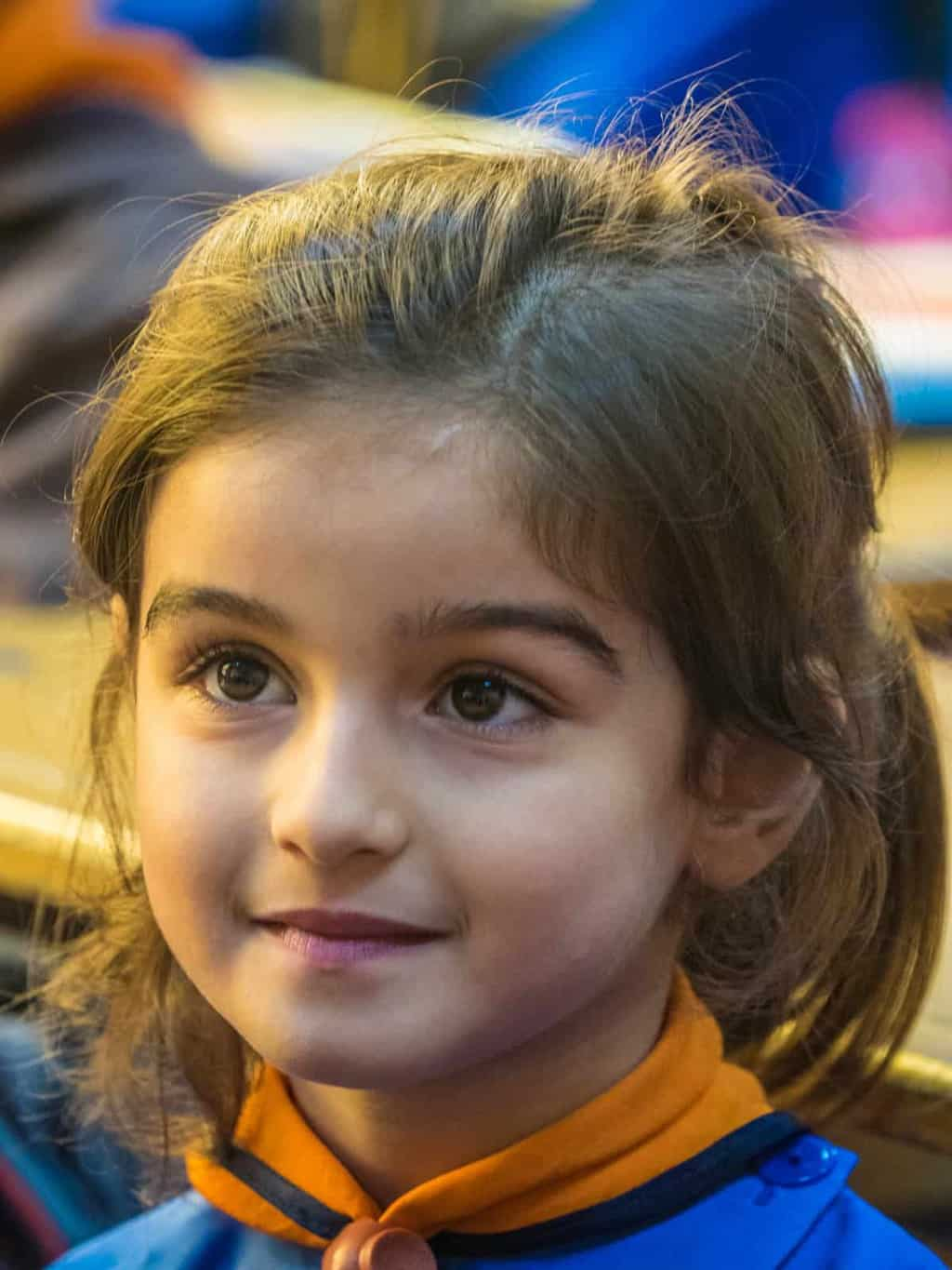 young syrian student homs