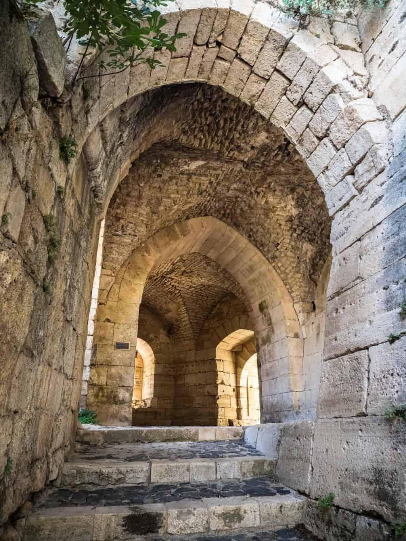 Krak des Chevaliers walkway