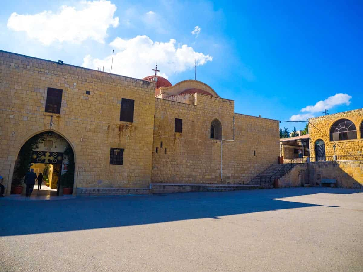 Saint George Monastery in Syria