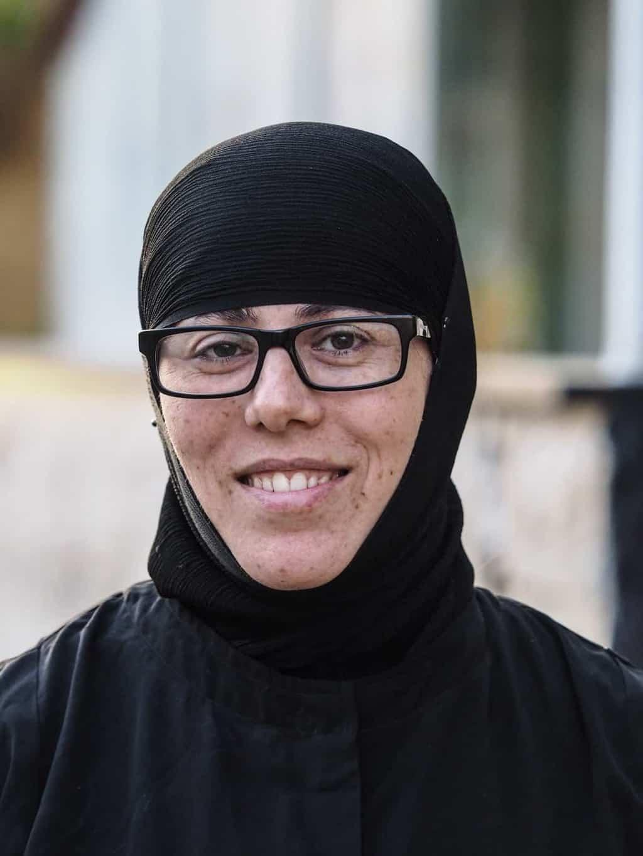 Christian nun in Syria