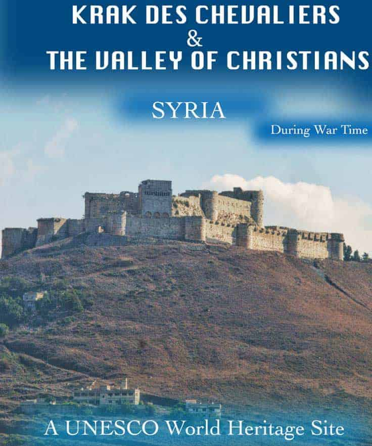 Travel guide to Krak des Chevaliers in the Homs province in Syria is probably the most important and best preserved medieval castle in the world. It was built during thefirst Crusade 1031