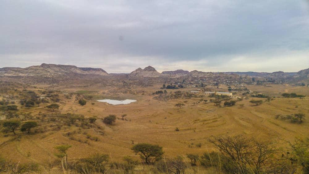 Qohaito in south Eritrea