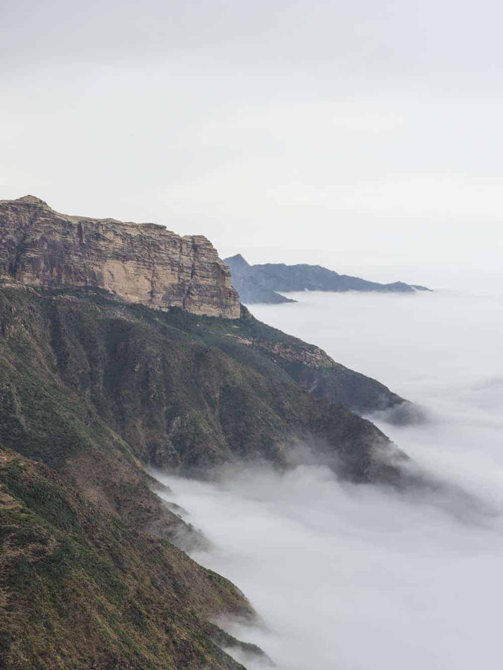 Qohaito Canyon in Eritrea