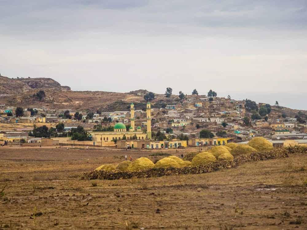 Senafe town south Eritrea