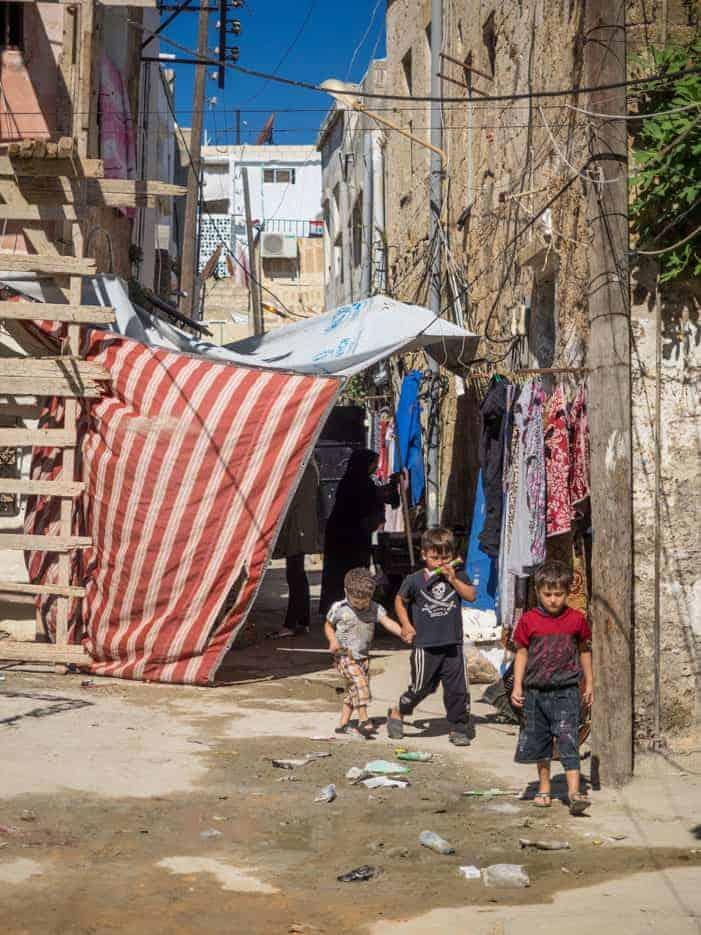 old town syria kids
