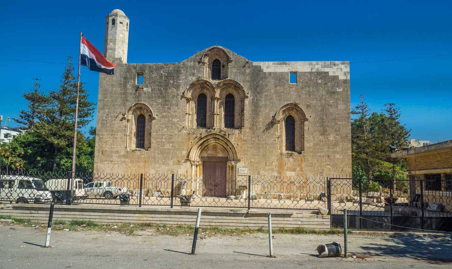 The Cathedral of Our Lady of Tortosa syria
