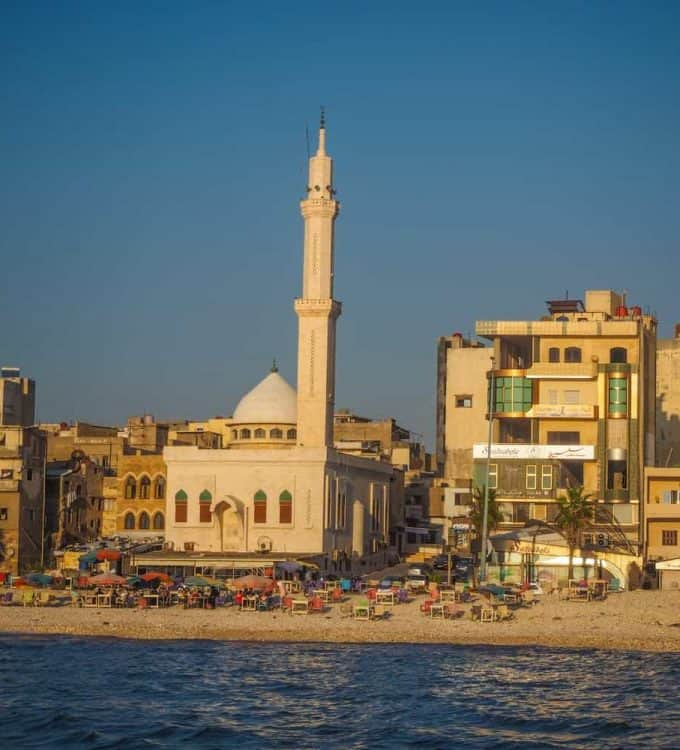 travel guide to Tartous in the coast of Syria