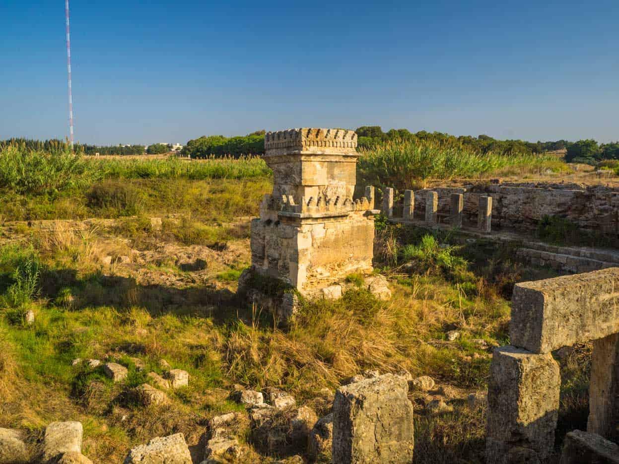 Tartous Phoenician Temple of Amrit