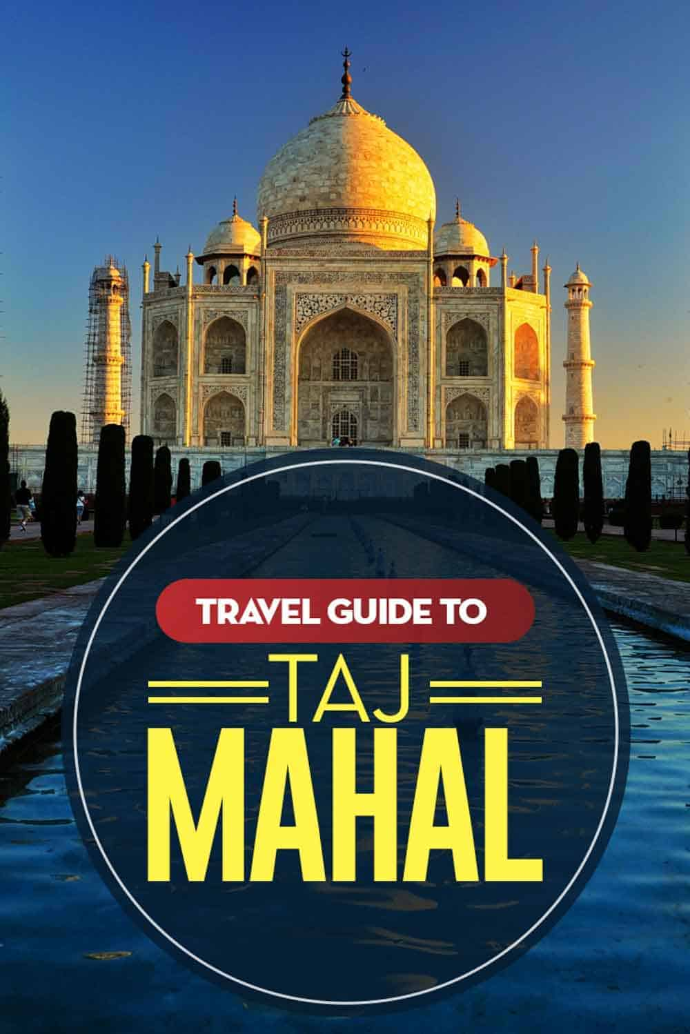 Travel Guide to the Stunning Taj Mahal in India. #indian #india #tajmahal #travel #travelblogger #travelblog #traveltips