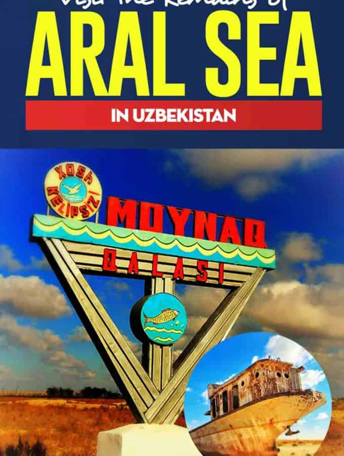 Travel Guide to one of the biggest Human disasters in the world, the aral sea in Uzbekistan. #Uzbekistan #asia #centralasia #environment