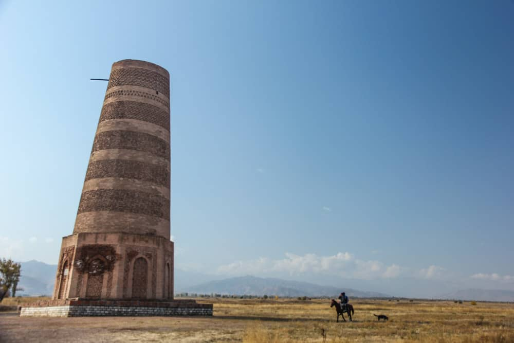 Burana Tower,Kyrgystan,central asia,silk road