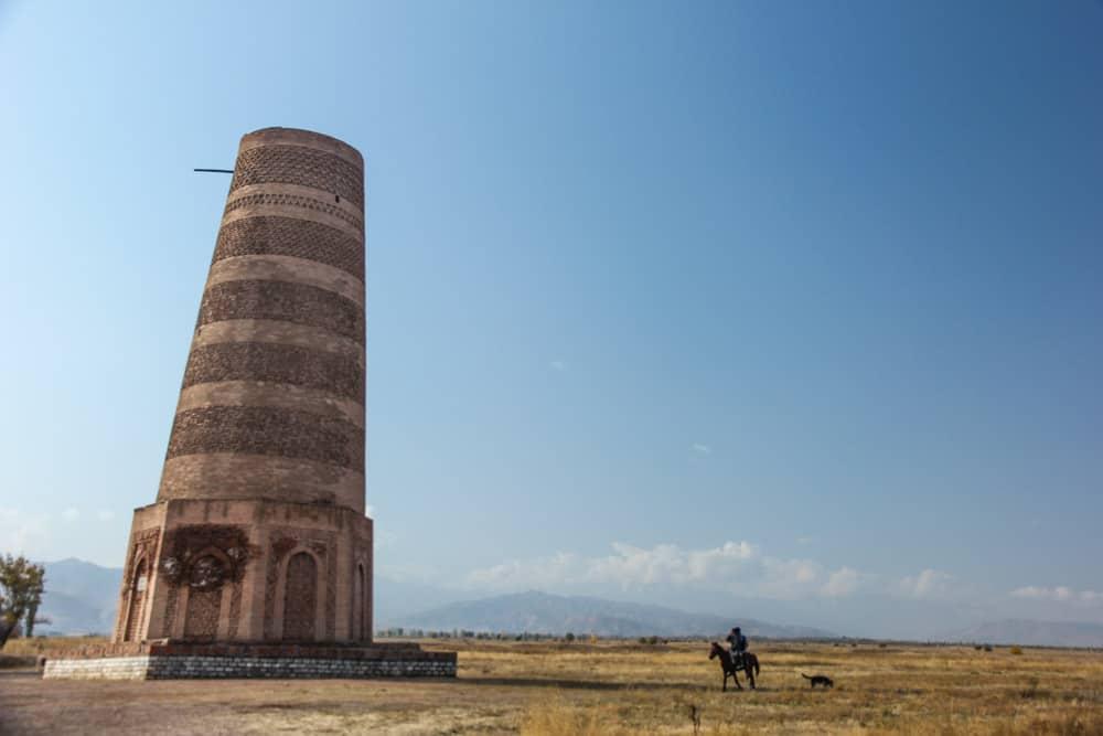 Burana Tower,Kyrgystan,central asia,silk road