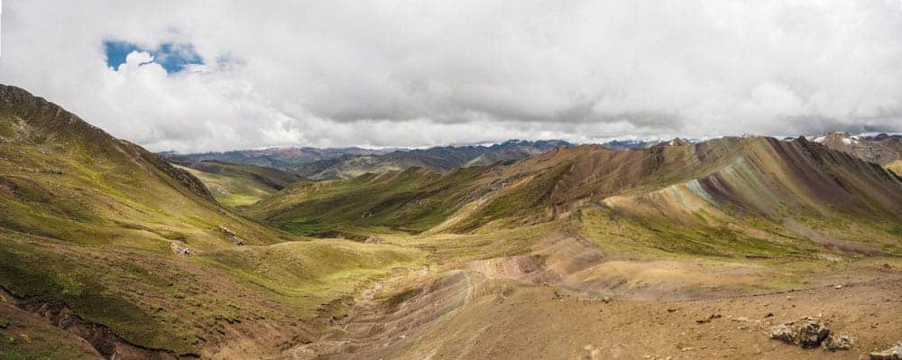 Rainbow Mountain in peru travel guide