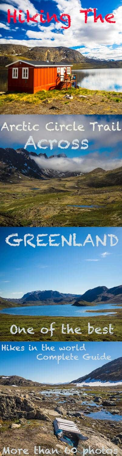 A complete guide to the Arctic Circle Trail, l hiked across the western part of Greenland. Here´s everything you need to know and more than 60 photos. #greenland #outdoor #hiking #treking #travel #travelblogger #travelblog #adventure