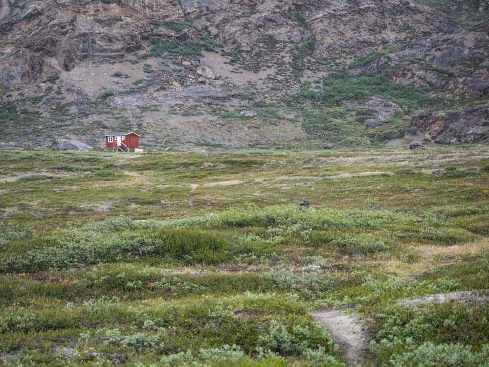 Eqalugaarniarfik Hut