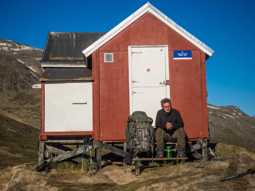 Kangerluarsuk Tulleq arctic cirle trail