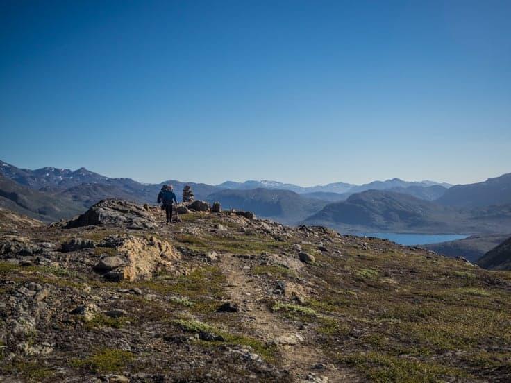 Arctic circle trail landscape
