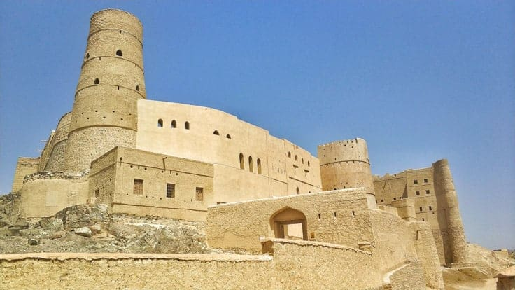 Bahla Fort, A UNESCO world heritage site in Oman