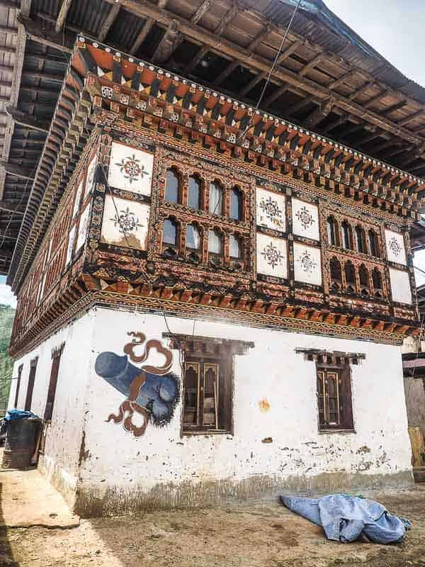 local house in Bhutan