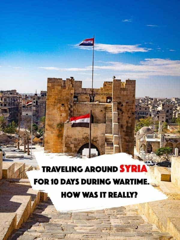 From already the first hours after I published my first post from my ten day trip to Syria in October 2017, did I receive messages from Syrian´s thanking me for showing how Syria is looking in 2017 #syria #travel #aleppo #damascus #traveltips #travelblog #travelblogger #middleeast