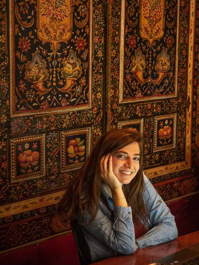 local beautiful girl in Damascus the capital of Syria