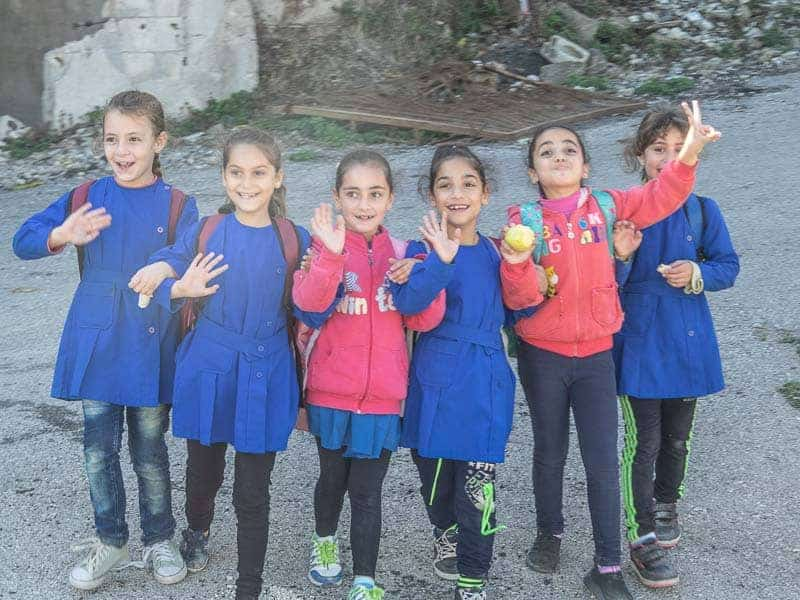 school kinds in Syria