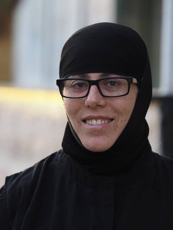Christian nun in Syria