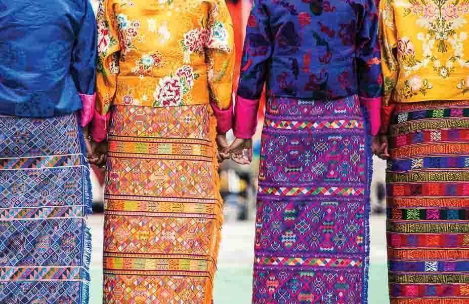 10 Things To Do In Bhutan. local bhutan dress