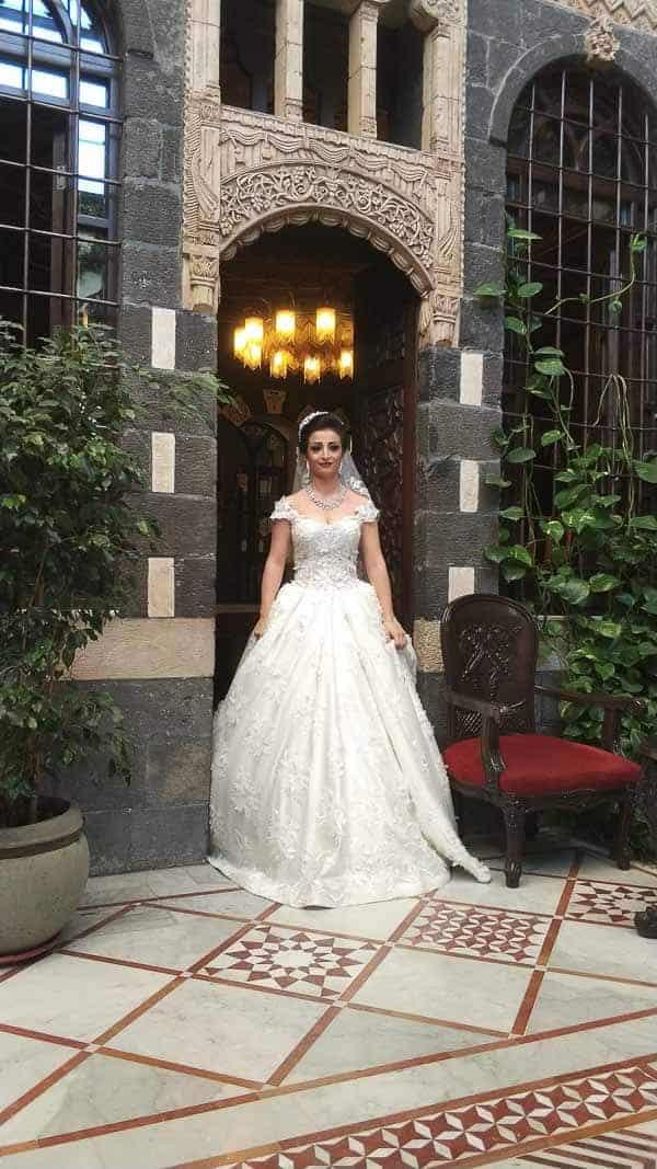 Getting ready for a wedding in Syria
